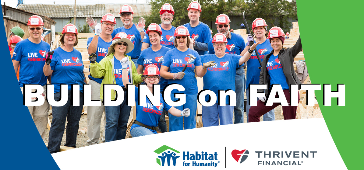 Building on Faith is a fun and meaningful opportunity to make a real impact on local needs by participating in a construction or non-construction activity in your community